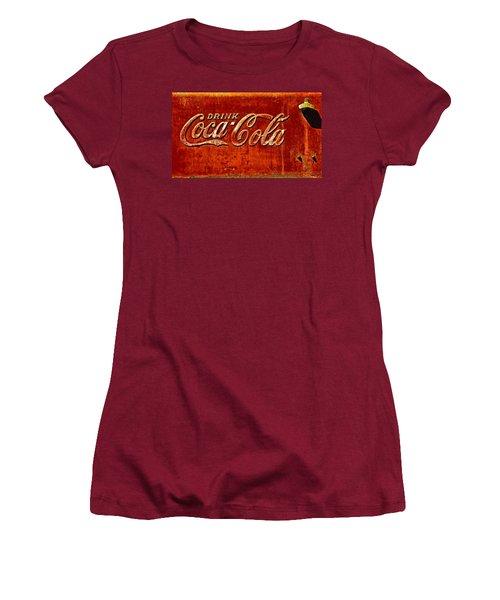 Antique Soda Cooler 3 Women's T-Shirt (Junior Cut) by Stephen Anderson