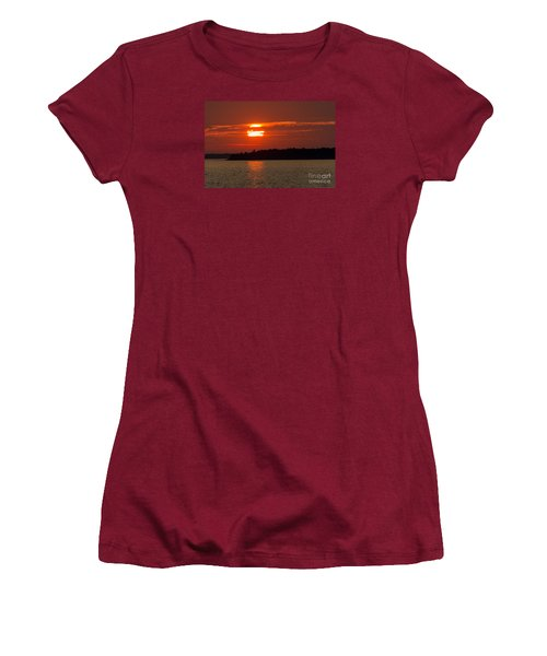 Apostle Island Sunset Women's T-Shirt (Athletic Fit)