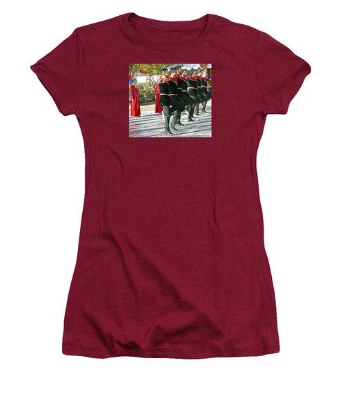 Armenian Dancers 13 Women's T-Shirt (Athletic Fit)