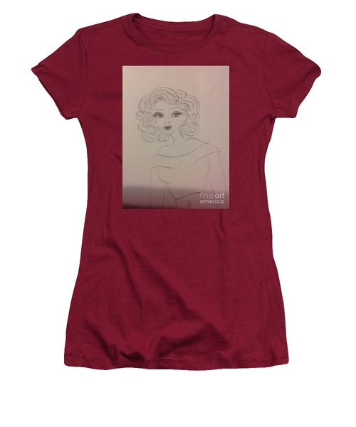 Ashley Barbour Women's T-Shirt (Junior Cut) by Philip Bracco