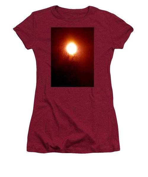 Autumn Burns The Memory Women's T-Shirt (Athletic Fit)