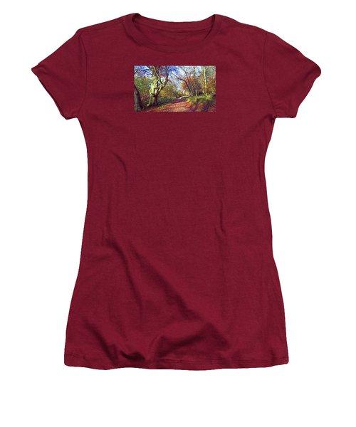 Autumn In Ashridge Women's T-Shirt (Athletic Fit)