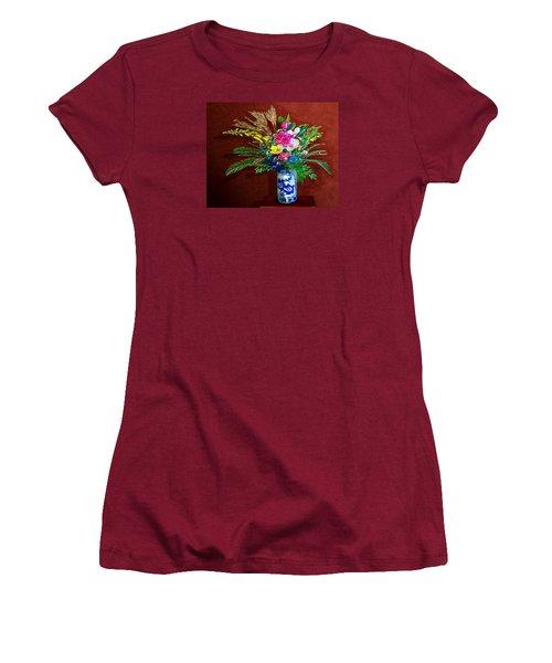 Bouquet Magnifique Women's T-Shirt (Athletic Fit)