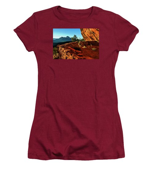 Boynton II 04-008 Women's T-Shirt (Junior Cut) by Scott McAllister