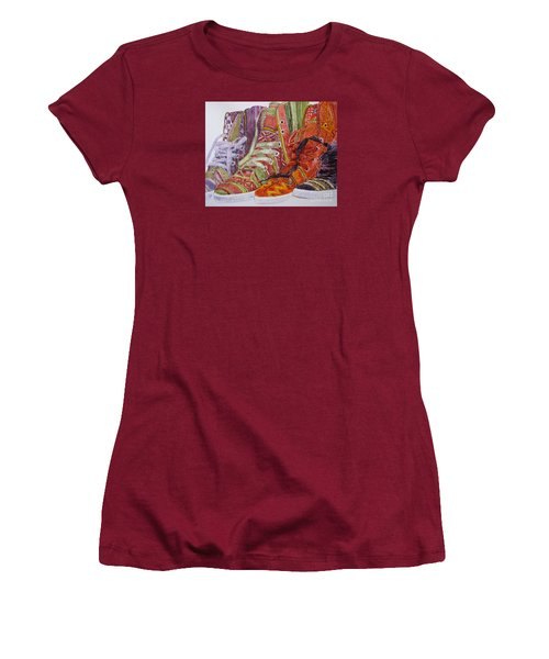 Canvas  Hightops Women's T-Shirt (Athletic Fit)