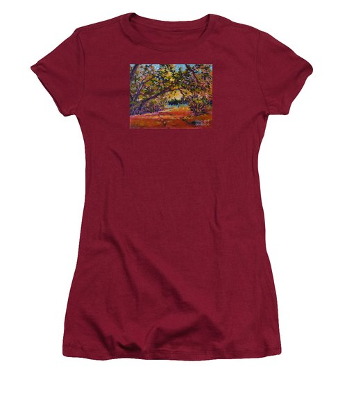 Canyon Light Women's T-Shirt (Athletic Fit)