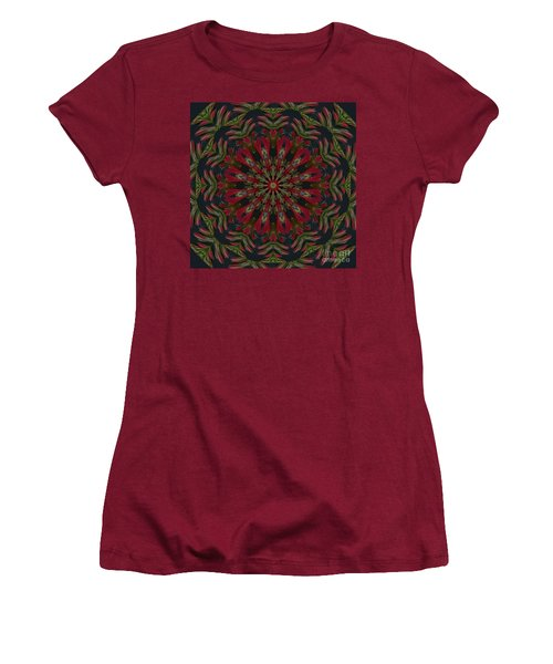 Cardinal Kaleidoscope Women's T-Shirt (Athletic Fit)