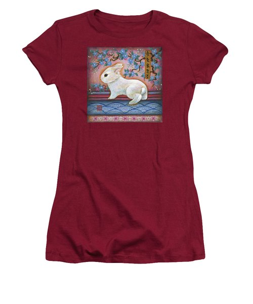Carpe Diem Rabbit Women's T-Shirt (Athletic Fit)