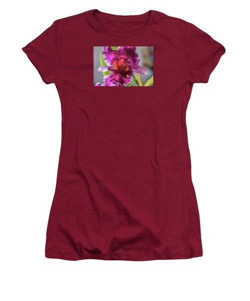 Cattleya Women's T-Shirt (Junior Cut) by Alana Thrower