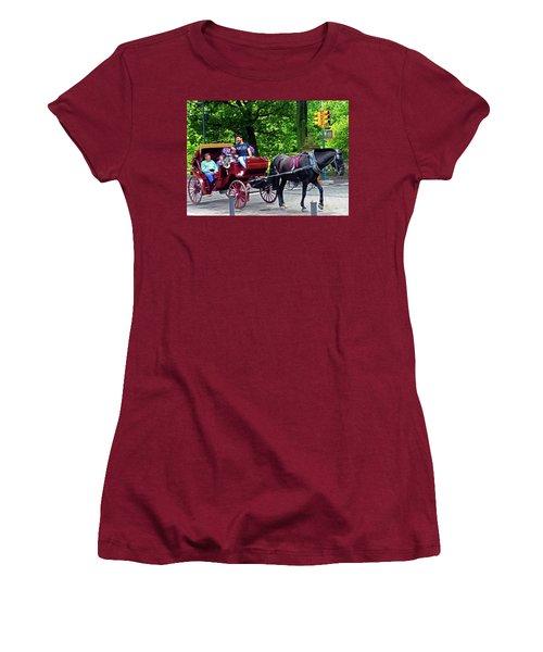 Central Park 5 Women's T-Shirt (Athletic Fit)