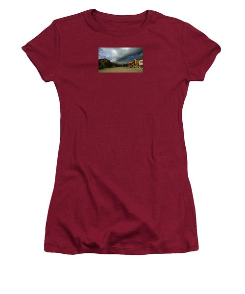 Women's T-Shirt (Athletic Fit) featuring the photograph Change In The Weather by Anne Kotan