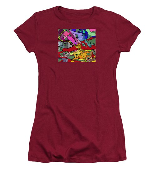 Cityplan#2 Women's T-Shirt (Athletic Fit)