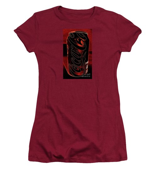 Coca Cola Can Coin Safe Women's T-Shirt (Junior Cut) by Richard W Linford