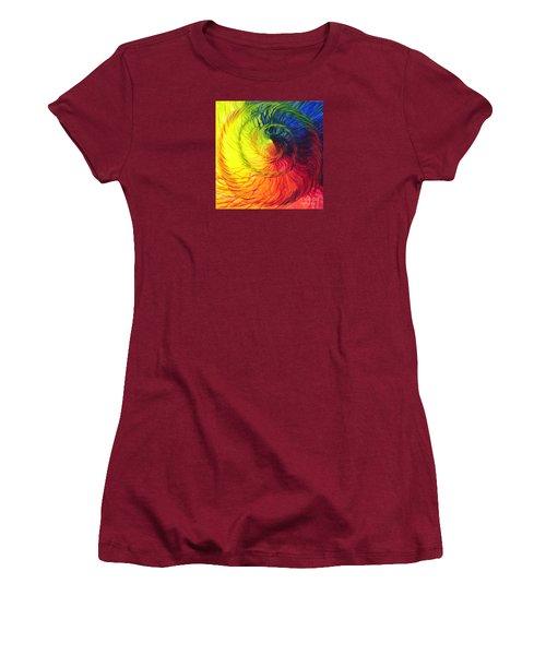 Color Women's T-Shirt (Athletic Fit)