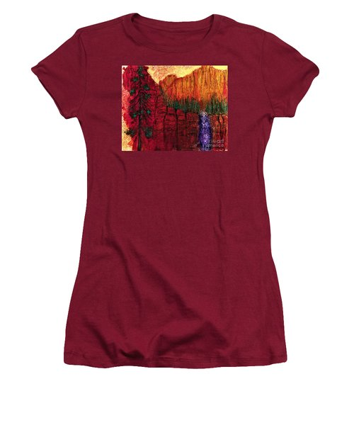 Come Away With Me  Women's T-Shirt (Athletic Fit)