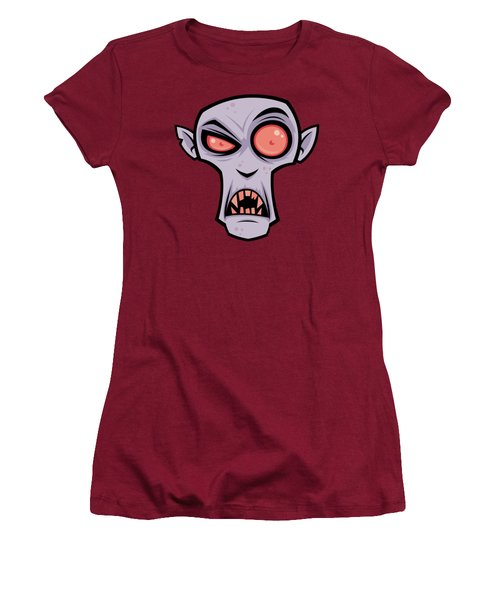 Count Dracula Women's T-Shirt (Athletic Fit)