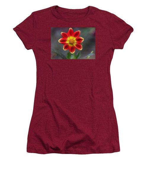 Dahlia Women's T-Shirt (Junior Cut) by Diane Giurco