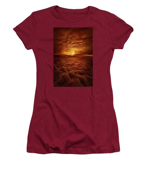 Women's T-Shirt (Junior Cut) featuring the photograph Dare I Hope by Phil Koch