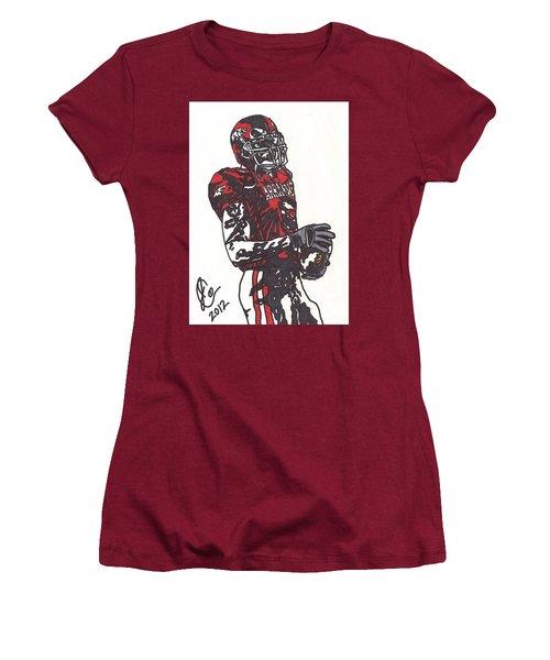 Darren Mcfadden 3 Women's T-Shirt (Junior Cut) by Jeremiah Colley