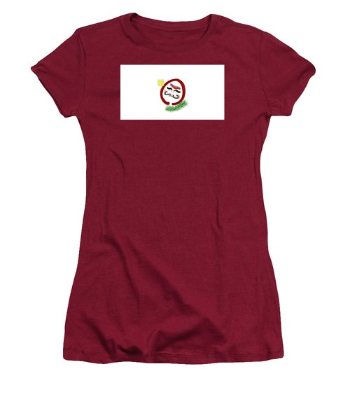 Daruma Women's T-Shirt (Athletic Fit)