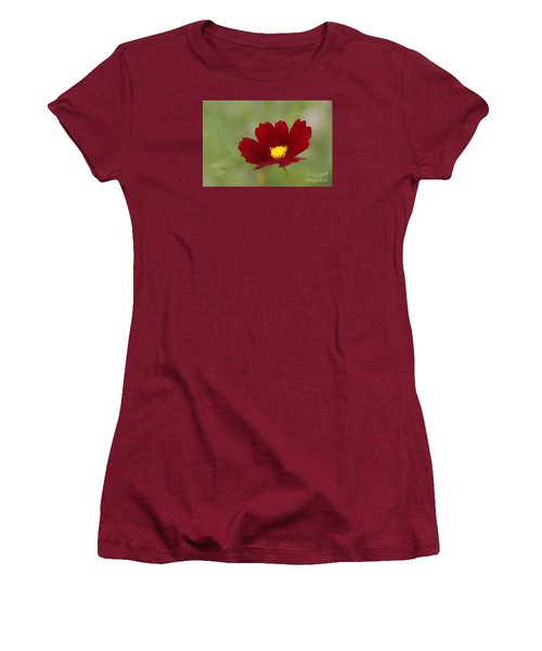Deep In Red Women's T-Shirt (Junior Cut)