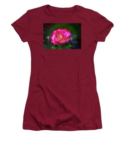 Dick Clark Rose 002 Women's T-Shirt (Junior Cut) by George Bostian