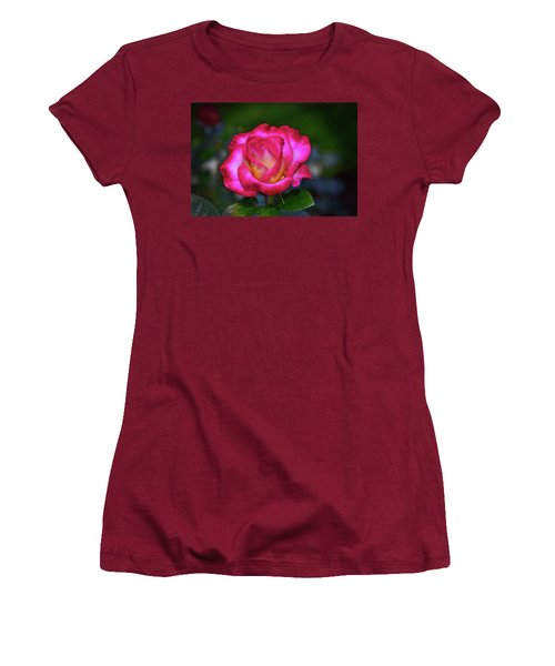 Dick Clark Rose 002 Women's T-Shirt (Athletic Fit)