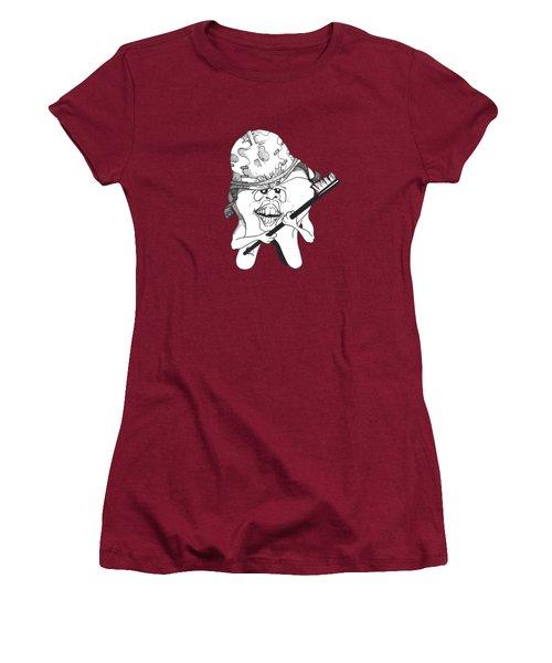 Dis Women's T-Shirt (Athletic Fit)
