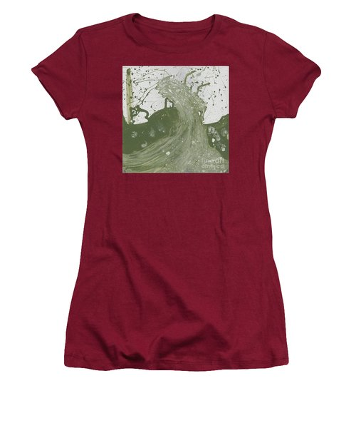 Double Up Wave Women's T-Shirt (Junior Cut) by Talisa Hartley