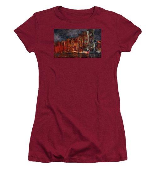 Downtown Women's T-Shirt (Junior Cut) by Alex Galkin