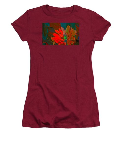 Women's T-Shirt (Junior Cut) featuring the photograph Dreaming Of Flowers by Jeff Swan