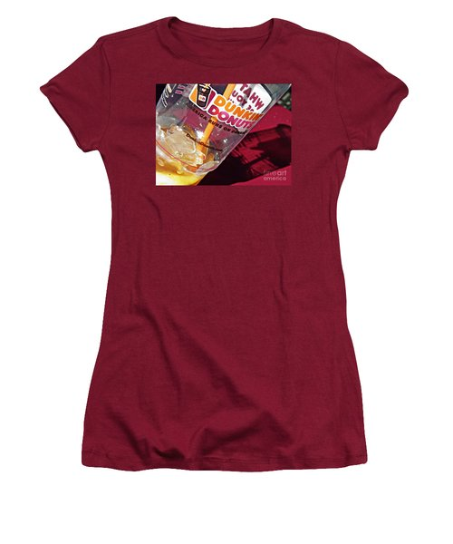 Dunkin Ice Coffee 29 Women's T-Shirt (Athletic Fit)