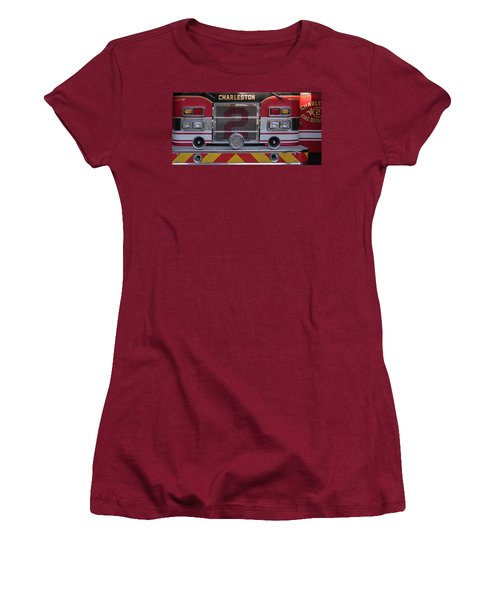 Engine Number Two Women's T-Shirt (Junior Cut) by Patricia Schaefer