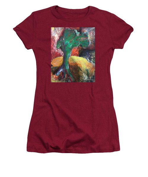 Escaped The Blaze Women's T-Shirt (Junior Cut) by Elizabeth Fontaine-Barr