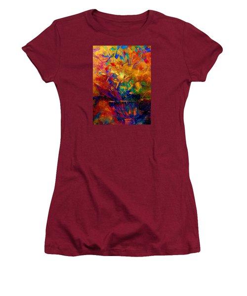 Fall Bouquet  Women's T-Shirt (Junior Cut) by Lisa Kaiser
