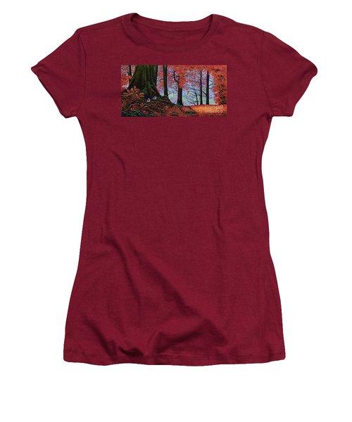 Fall Colors II Women's T-Shirt (Junior Cut) by Michael Frank