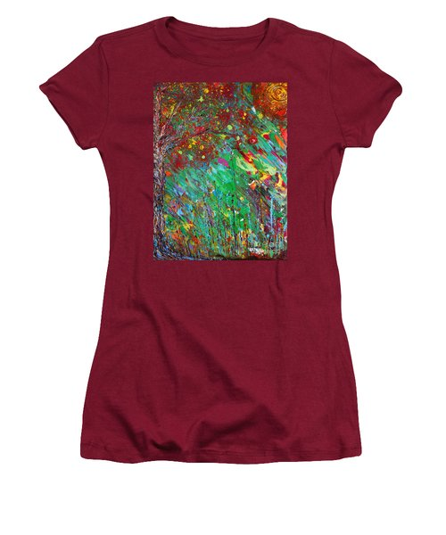 Fall Revival Women's T-Shirt (Junior Cut) by Jacqueline Athmann