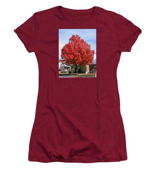 Fall Season Women's T-Shirt (Junior Cut)
