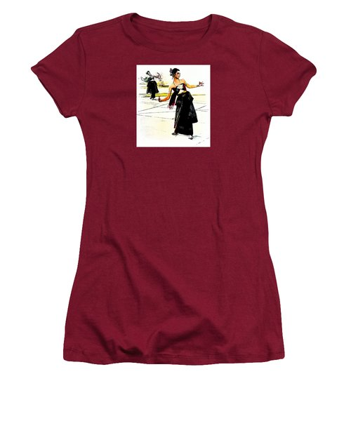 Festival Celebration Women's T-Shirt (Junior Cut) by Ian Gledhill