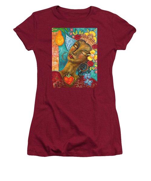 Finding Paradise Women's T-Shirt (Junior Cut) by Shiloh Sophia McCloud