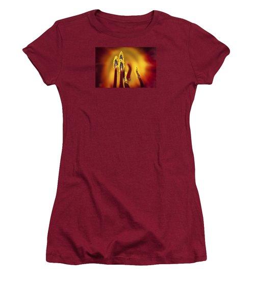 Fire Dancers Women's T-Shirt (Athletic Fit)