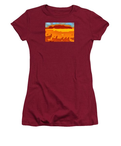 Fire Hill Women's T-Shirt (Athletic Fit)