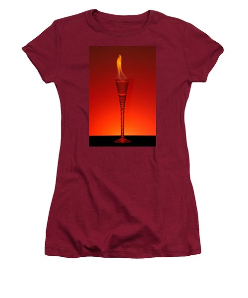 Flaming Hot Women's T-Shirt (Athletic Fit)
