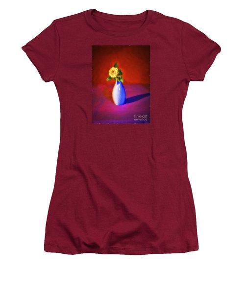 Flower And Vase  ... Women's T-Shirt (Junior Cut) by Chuck Caramella