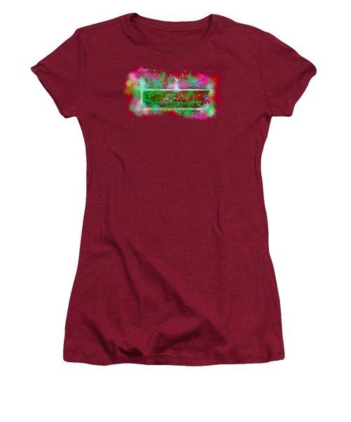 Forgive Brick Pink Tshirt Women's T-Shirt (Athletic Fit)