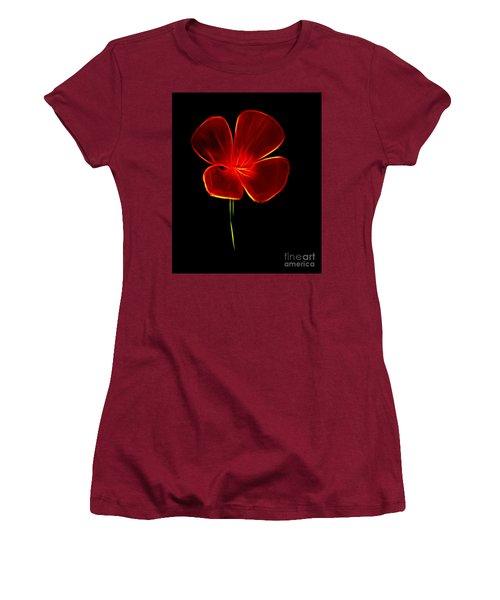 Four Petals Women's T-Shirt (Junior Cut) by Steven Parker