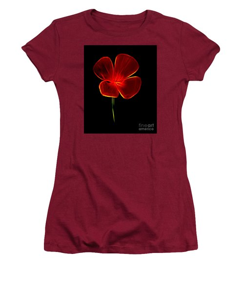 Four Petals Women's T-Shirt (Athletic Fit)
