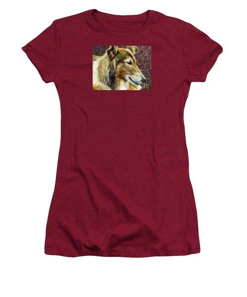 Gentle Spirit - Reveille Viii Women's T-Shirt (Junior Cut) by Hailey E Herrera