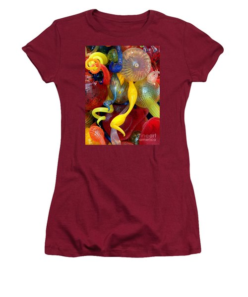 Glassworks Of The Milwaukee Art Museum Women's T-Shirt (Athletic Fit)