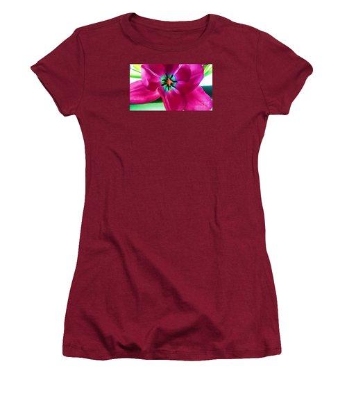 Women's T-Shirt (Junior Cut) featuring the photograph Glory Hallelujah by Roberta Byram